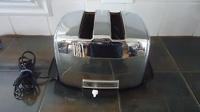Vintage Sunbeam Working Radiant Automatic Toaster Collectible Kitchenware DECO