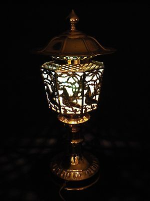 Vintage Golden Traditional Lantern -Phoenix Chochin-  Made in Japan