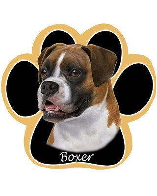 Brand New Boxer Paw Shaped Dog Computer Mousepad - Very Cute