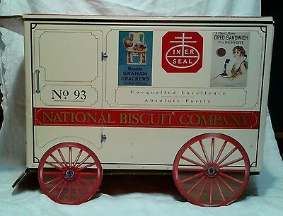 Nabisco National Biscuit Company Graham Crackers Oreo Cardboard Wagon Very Large