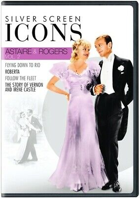 Silver Screen Icons: Astaire & Rogers: Volume 2 [New DVD] Boxed Set