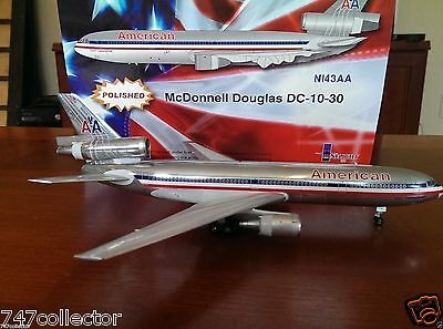 Inflight200 American Airlines DC 10-30 1:200 IFDC10111213BP Polished Vers N143AA