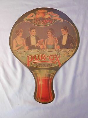 Pur Ox Flavored Syrups Advertising Fan