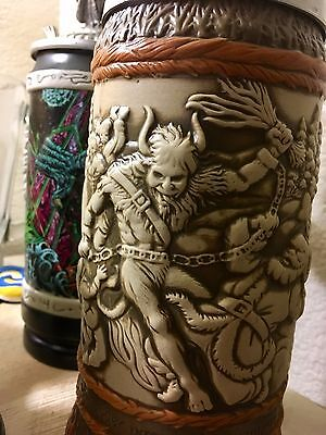 Munkstein Krampus vs. Santa Dynamic Wash Beer Stein