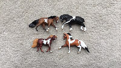 Breyer Horse Mini Whinnies #300168 5 Pintos K-Mart SR Morgan Pulling Draft TWH