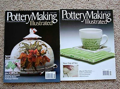 Pottery Making Illustrated - 2 issues from 2010