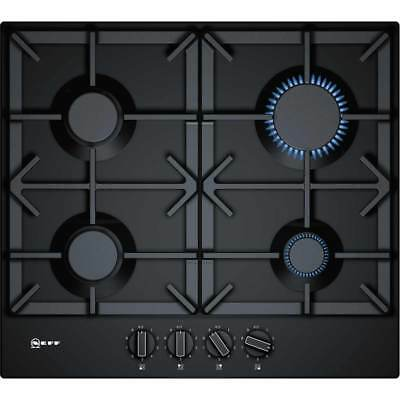 Neff T26DS49S0 Built In 58cm 4 Burners Gas Hob Black New from AO