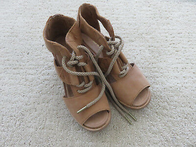 SOREL Joanie (II) Lace Cage Wedge Bootie Lace Sandal 5.5 6 6.5 7 8 7.5 9 $150