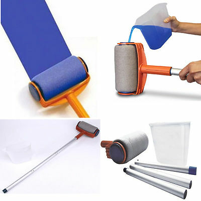 Professional Paint Roller Kit Brush Painting Runner Pintar Tool Facil Wall Decor