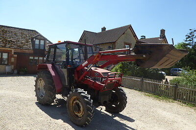 Case 3220 4Wd Loader Tractor 1995 Manual Gear Box Power Loader With Bucket