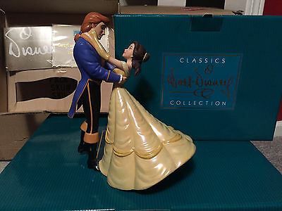 """WDCC Beauty and The Beast - Belle & Prince """"The Spell is Lifted"""" New"""
