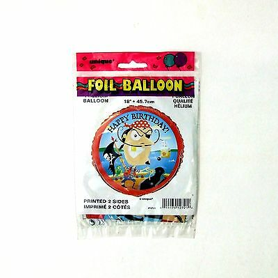 "Balloon Pirate Children's Foil Party 18"" 40 Balloons"