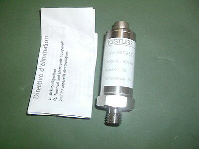 Kistler Rag25A500Bv1B............ Pressure Transmitter 0-500 Bar...... New Boxed