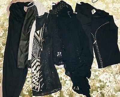 Lot of ladies goth/witch style clothing. Size 12.