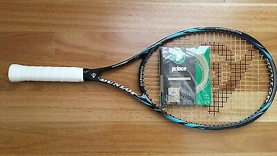 Dunlop Biomimetic 200 Plus Tennis Racquet Grip 4 1/2 + FREE STRING