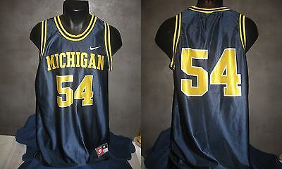 maillot NCAA MICHIGAN WOLVERINES shirt trikot maglia jersey BASKET