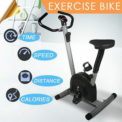 Exercise Bike Upright Cycling Health Fitness Bicycle Stationary Workou Machine