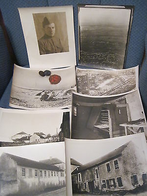 WWI US Army Photographer Lot