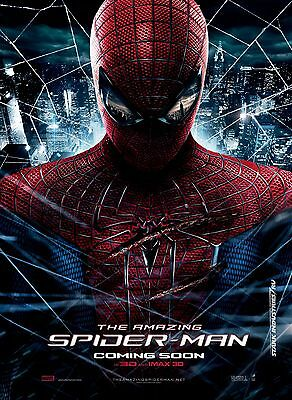 Amazing Spiderman - A4 Glossy Poster -TV Film Movie Free Shipping #81