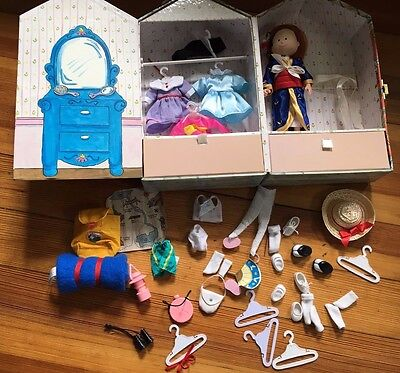 Madeline Eden 1999 Doll House, Camping Equipment Kimono and Many Extras