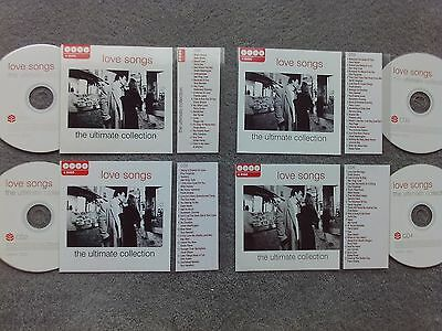 Love Songs  4 x Jukebox CDs for NSM Jukeboxes + matching Title Cards