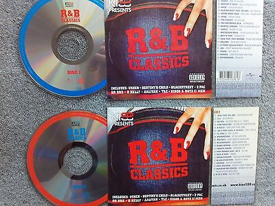 R & B Classics  2 x Jukebox CDs for NSM Jukeboxes + matching Title Cards