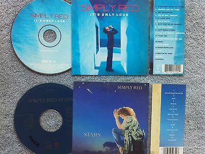 Simply Red  2 x Jukebox CDs for NSM Jukeboxes + matching Title Cards