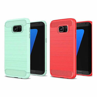 New Shockproof Silicone Soft TPU Ultra Thin Gel Case Cover For Samsung Galaxy S8