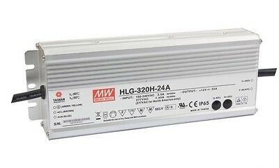 Mean Well Led Power Supply Hlg-320H-24A  24V 13.34A