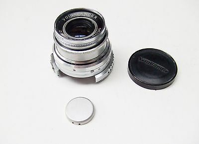 VOIGTLANDER f4.5 100mm DYNARON FOR PROMINENT RANGEFINDER CAMERA + CAPS