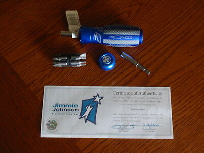 Jimmie Johnson #48~Signed / Autographed~Kobalt 13-in-1 Screwdriver with COA~RARE