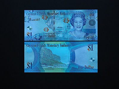 CAYMAN ISLANDS  $1  2010  p38   BEAUTIFUL COLOUR AND PRINT  * MINT UNC NOTES *