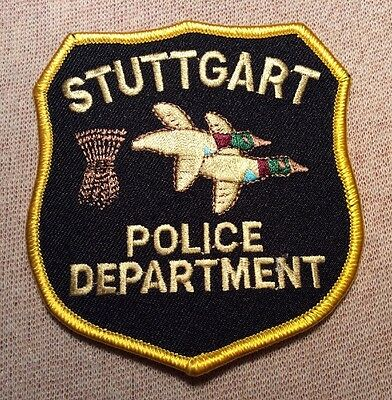 AR Stuttgart Arkansas Police Patch