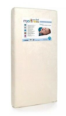 My First Mattress Premium Memory Foam Crib Mattress with Waterproof Cover