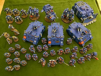 Pro-Painted Warhammer 40K Ultramarines Space Marine Army