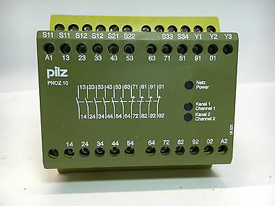 Pilz 774003 Safety Relay Terminal Block Model PNOZ 10 6S/40