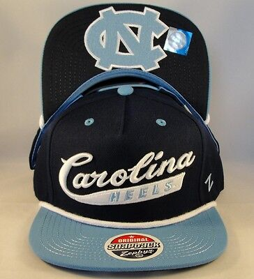 huge discount 24303 0f238 North Carolina Tar Heels NCAA Zephyr Snapback Hat Cap Sweep