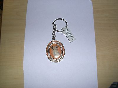 Wire fox Terrier Dog Spinning Key Chain ---  its really is cute - new