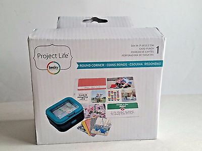 Becky Higgins Project Life 3 X 4 Round Corner Card Punch