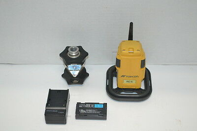 Topcon Rc-5 Remote Controller & Atp1 Prism W/ Charger