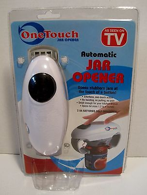 NIP One Touch ONETOUCH Kitchen Automatic Jar Opener Kitchen Tool-BRAND NEW!