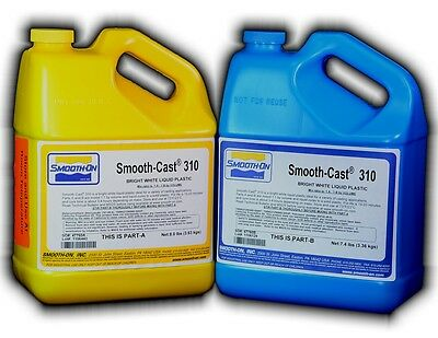 Polyurethane Casting Resin Smooth On Smooth-Cast 310 1 Gallon Kit 6.99kg/15.4lbs