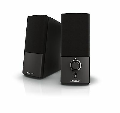 Bose Companion 2 Series III Multimedia Speakers for PC with 3.5mm AUX & PC input