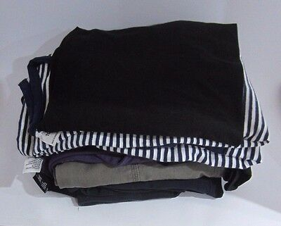 Winter maternity clothes (Sz 10-14) - 2 pants,4 tops & belly band (PICK UP ONLY)