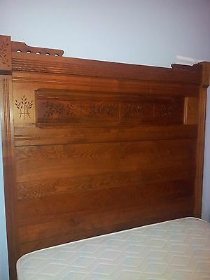 antique bedroom set mattress and box spring included.