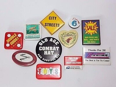 Lot 11 pin pins badge Double Odds Empress Plymouth Granberries Child's place