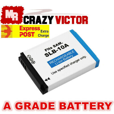 SLB-10A Battery for Samsung L100 L110 L200 L210 L310W M100 M110 M310W Camera