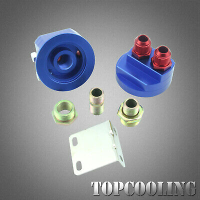 AN-10AN Oil Cooler Filter Sandwich Plate Adapter Relocation Kit Universal