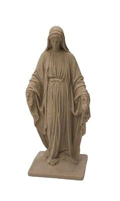 Virgin Mary Statue Catholic Garden Sculpture Our Lady Figurine Religious Mother