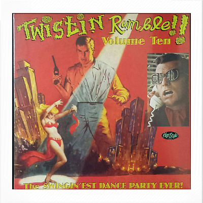 "V/A.LP - TWISTIN' RUMBLE #10 # - ♫♫♫ ""The Swingin'est Dance Party Ever!!!!!""♫♫♫♫"